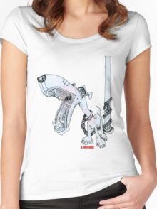 Leashed Women's Fitted Scoop T-Shirt