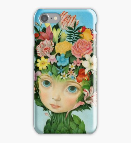 The Languaje of Flowers by Raul Guerra iPhone Case/Skin