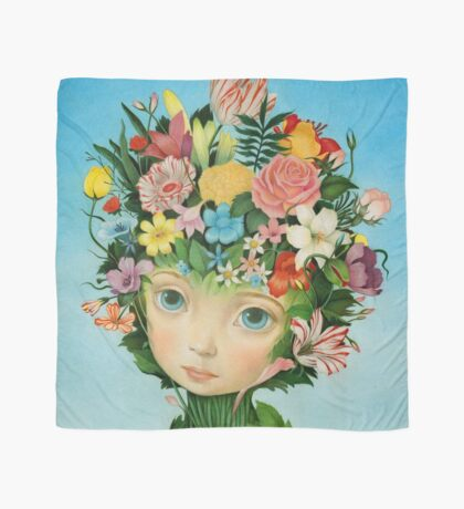 The Languaje of Flowers by Raul Guerra Scarf