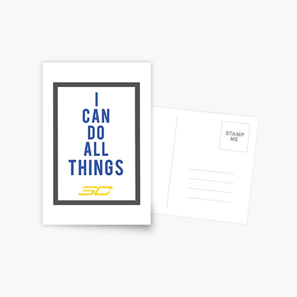 Ich kann alles machen Postkarte