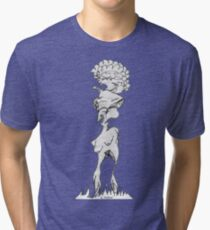 Alien Blow Up Doll  Tri-blend T-Shirt