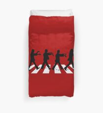 across the zombies Duvet Cover