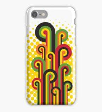 Retro Abstract Floral iPhone Case/Skin
