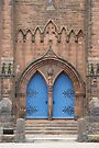 Dumfries Door by Allen Lucas