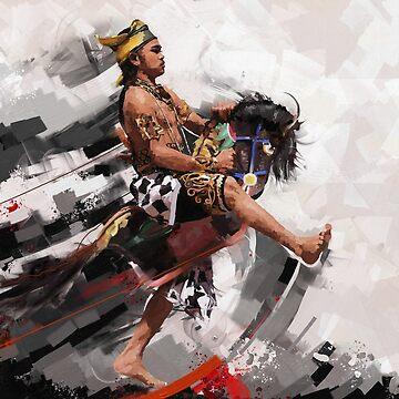 Kuda Lumping or horse braid by msjeje
