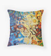 Z - Generative Art Throw Pillow