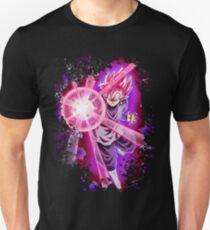 Black Goku Super Saiyan Rose Unisex T-Shirt