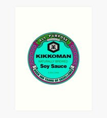 Kikkoman Aesthetic  Art Print