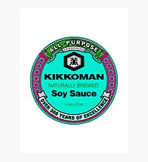 Kikkoman Aesthetic  Photographic Print