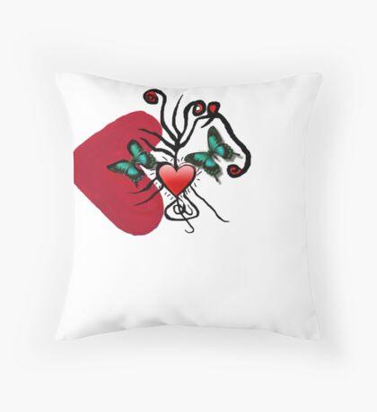 B love Throw Pillow