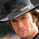 Clint Eastwood by James Shepherd
