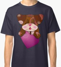dog with heart Classic T-Shirt