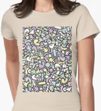 Abstract Disco 1.3 Womens Fitted T-Shirt