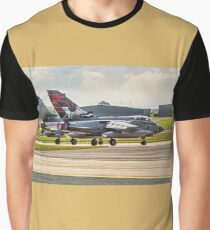 Two 617 Sqn Tornado GR.4s on take-off Graphic T-Shirt