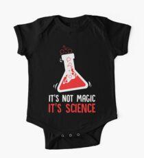 Es ist nicht Magie Es ist Science Science Teacher Kurzärmeliger Einteiler