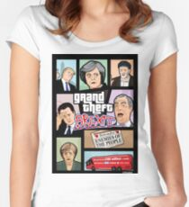 GTA: Brexit Women's Fitted Scoop T-Shirt