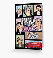 GTA: Brexit Greeting Card
