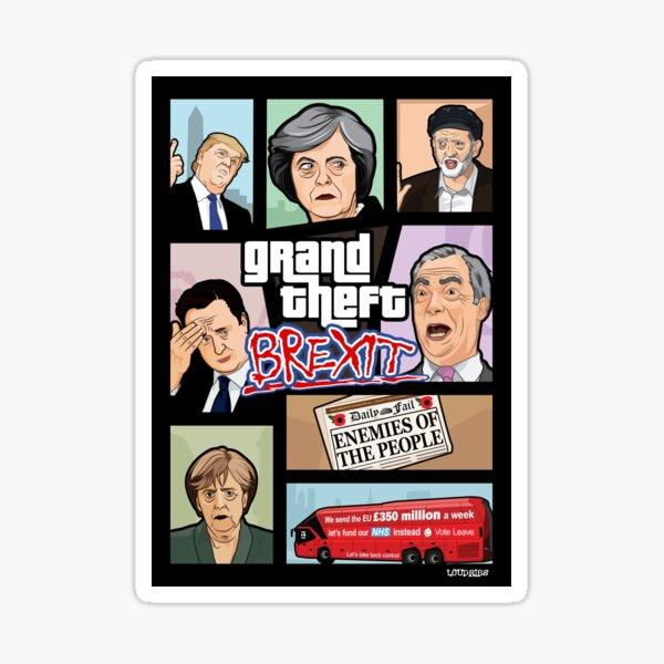 GTA: Brexit Sticker