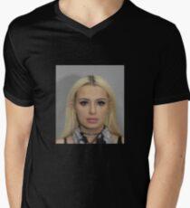 tana mongeau coachella mugshot  Men's V-Neck T-Shirt