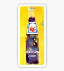 RC Cola - Vintage Bottles Sticker