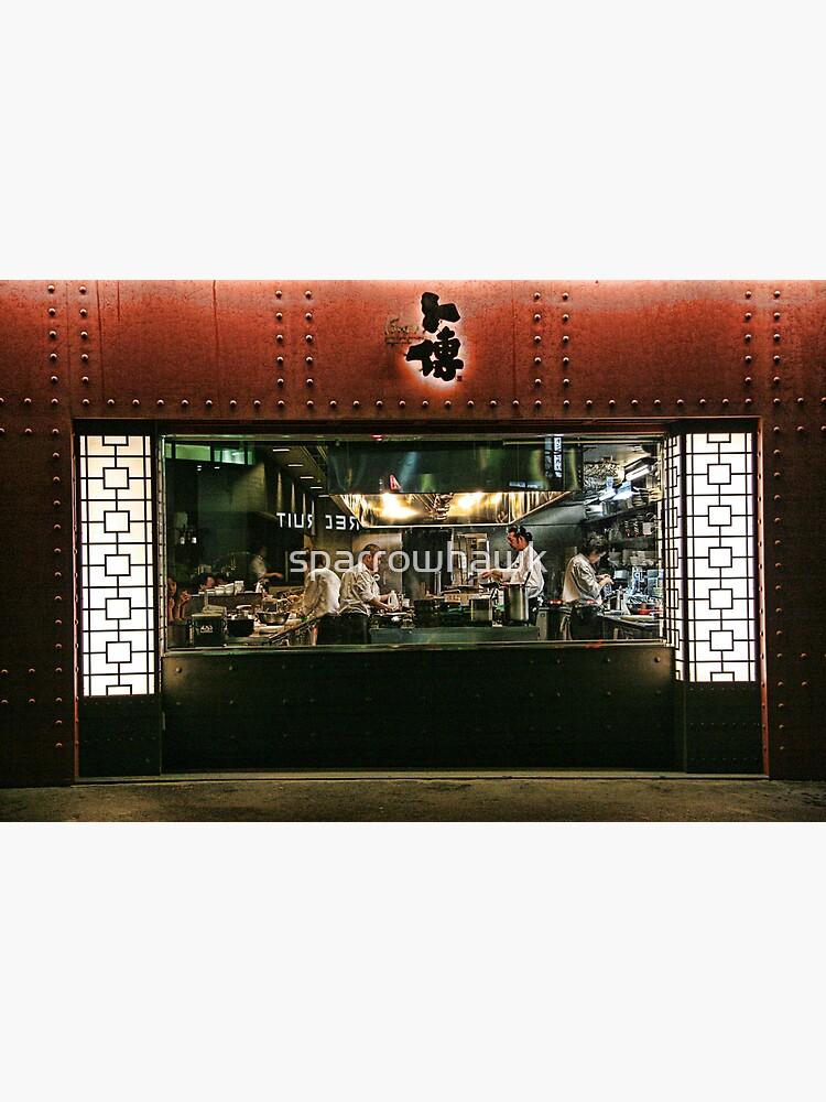 Tokyo Restaurant by sparrowhawk