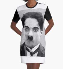 Charlie Chaplin Graphic T-Shirt Dress