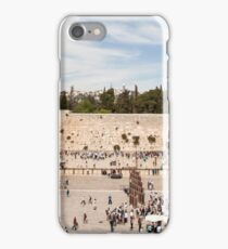 Israel Jerusalem Wailing Wall  iPhone Case/Skin