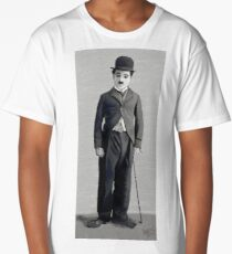 Charlie Chaplin 2 Long T-Shirt
