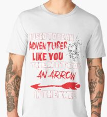 An Arrow In The Knee Men's Premium T-Shirt