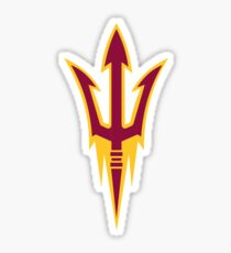 Arizona State University Fork Sticker