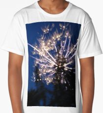 Firework Long Exposure Long T-Shirt