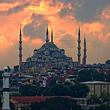 The Blue Mosque, Istanbul by tomg