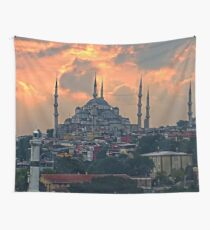 The Blue Mosque, Istanbul Wall Tapestry