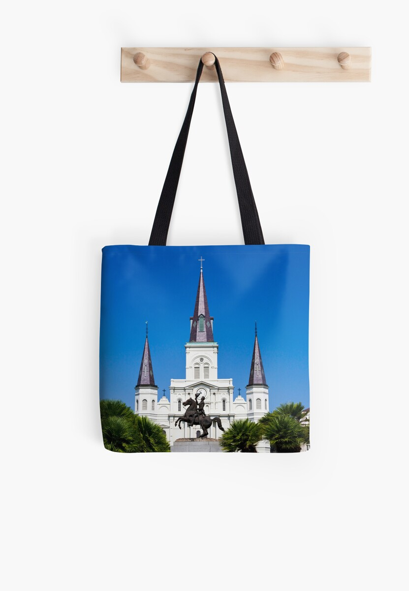 The St. Louis cathedral, New Orleans, LA, USA by PhotoStock-Isra