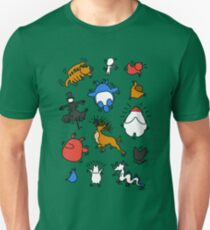 Haring Ghibli Unisex T-Shirt