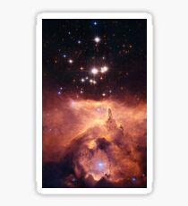 space galaxy Sticker
