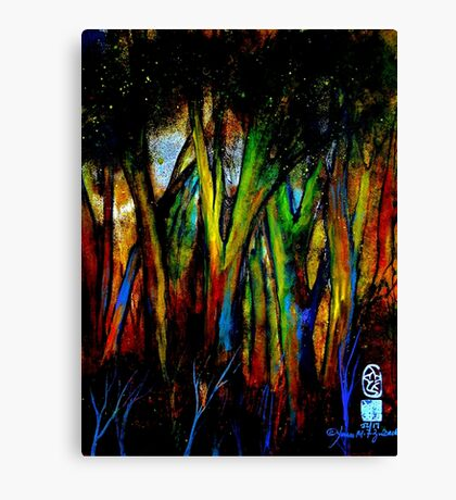 Naked Strength Canvas Print