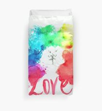 Love Kiss Duvet Cover