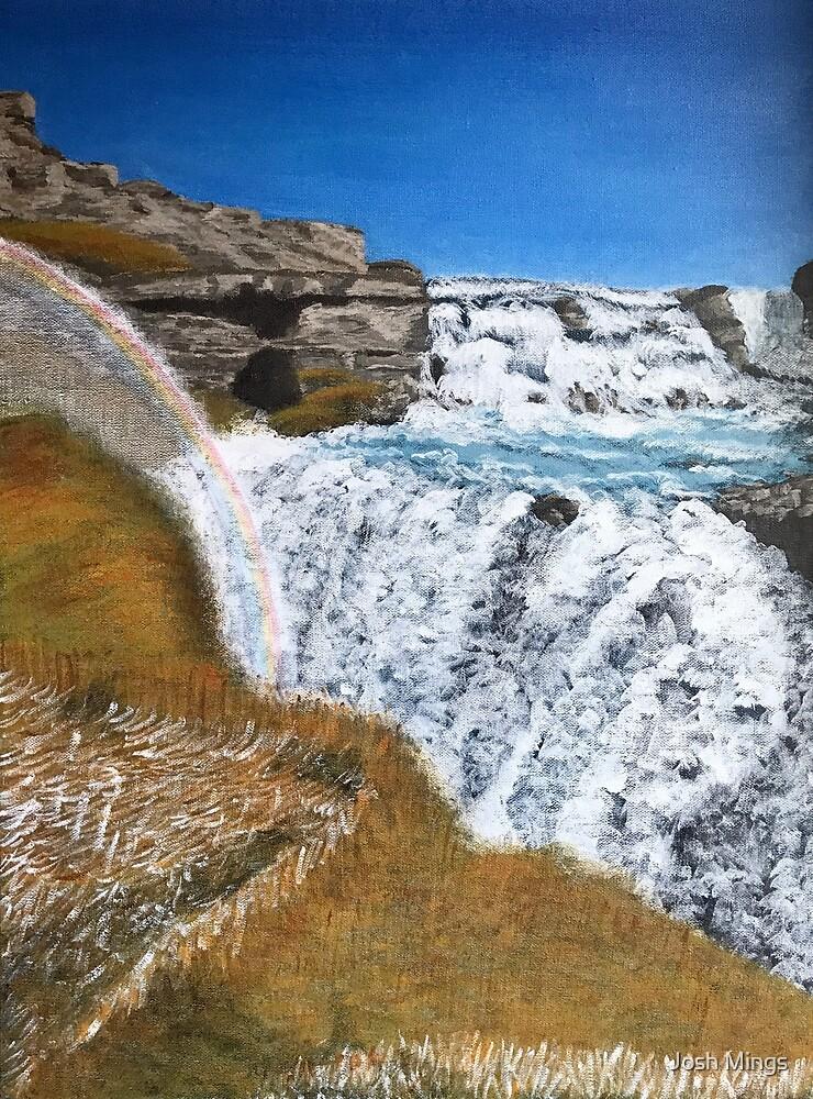 Chasing Waterfalls - Gullfoss, Iceland by Josh Mings