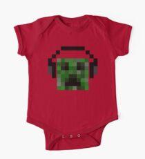 Minecraft Creeper Pixel Art Kids Clothes