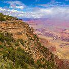 USA. Arizona. Grand Canyon. Fog lifting off of Canyon. by vadim19