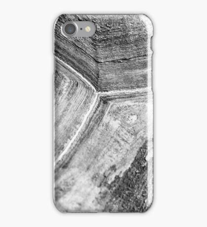Shellscape of a giant tortoise. iPhone Case/Skin