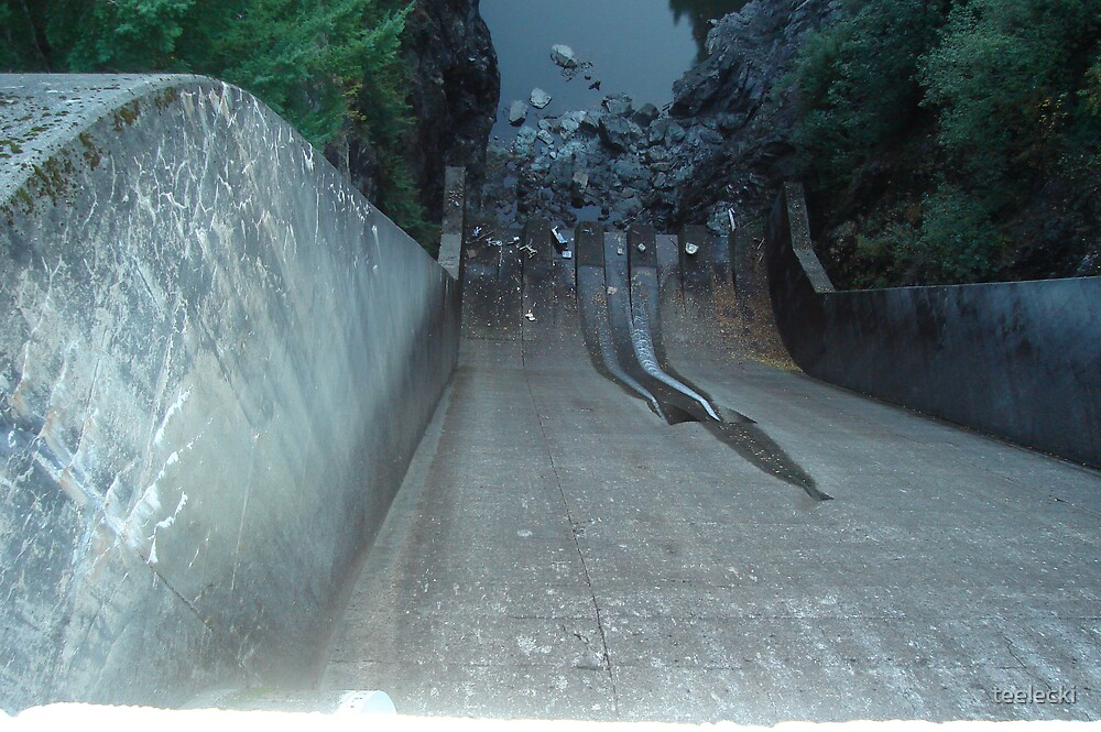 Capilano Dam by teelecki