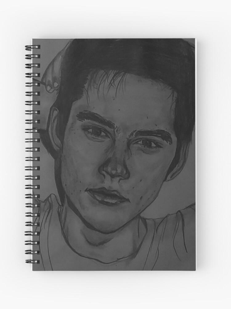 Dibujo De Dylan Obrien Cuaderno De Espiral