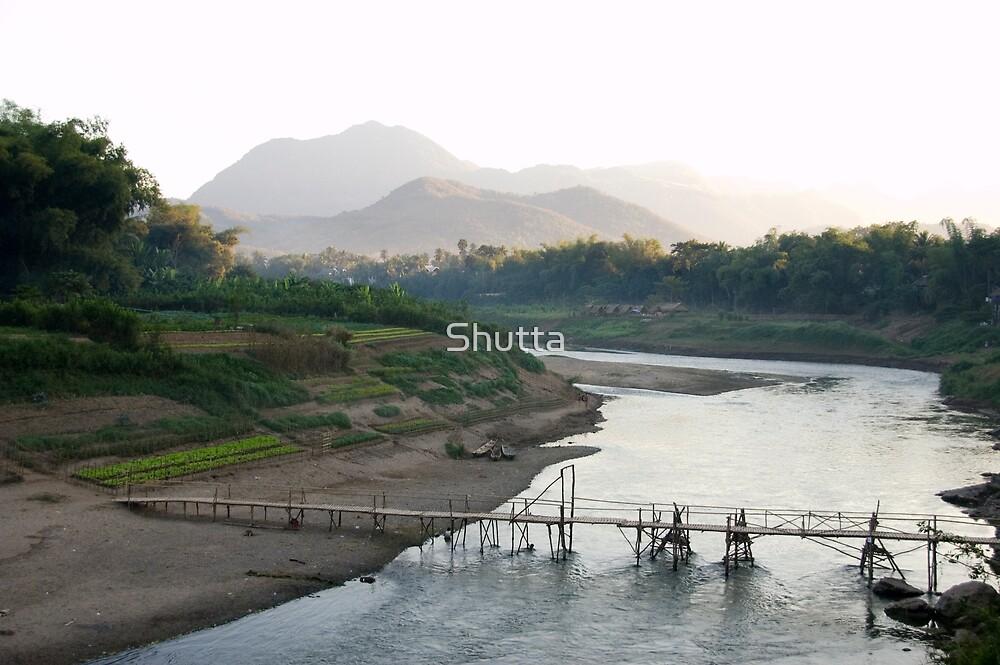 Mekong River by Shutta