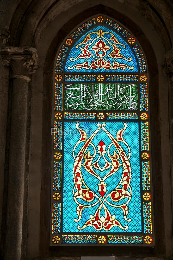 e Room of the Last Supper (Coenaculum) stained glass window  by PhotoStock-Isra