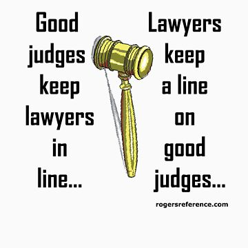 Legal judging! by QuoteKing