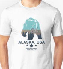 American Gods - Motel America Alaska branch Unisex T-Shirt