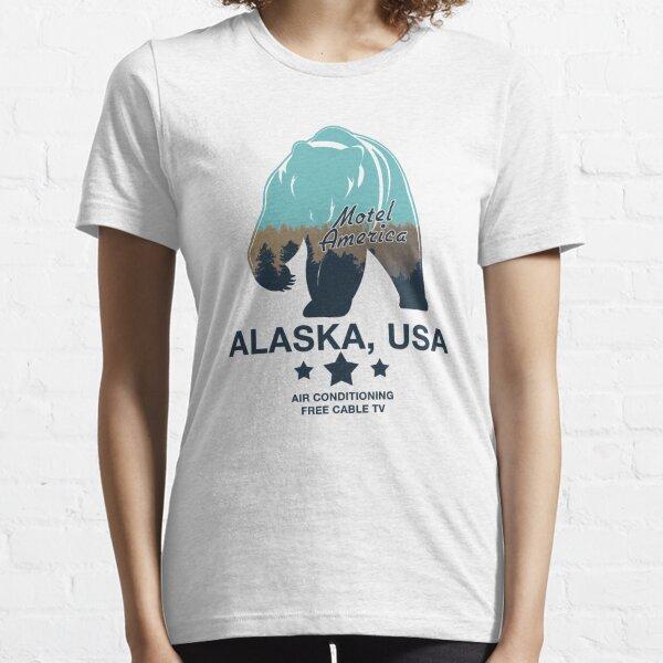 American Gods - Motel America Alaska branch Essential T-Shirt