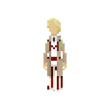 The Fifth Doctor by mariusfinnstun